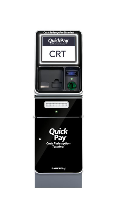QuickPay CRT machine