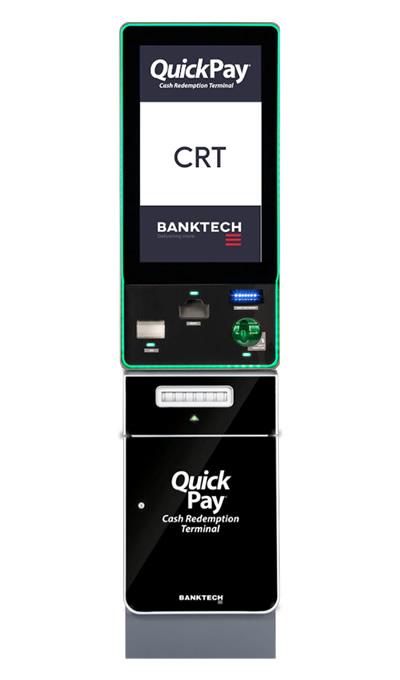 QuickPay CRT Machine Banktech