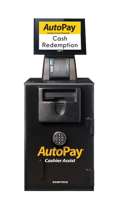 Autopay Cash Redemption machine