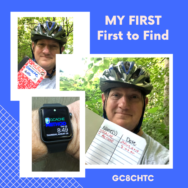 1st First to Find Geocache