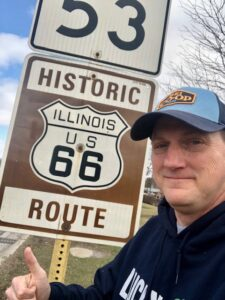 Geocaching Route 66