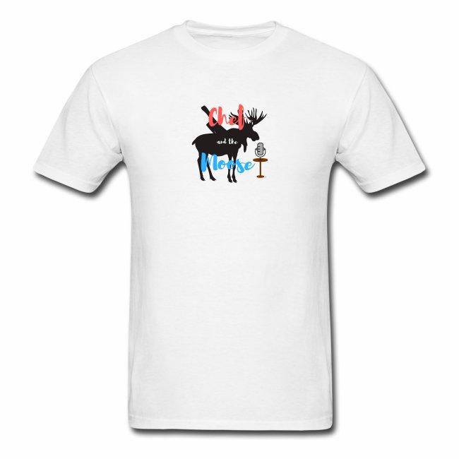 Chef and the Moose Tshirt Logo