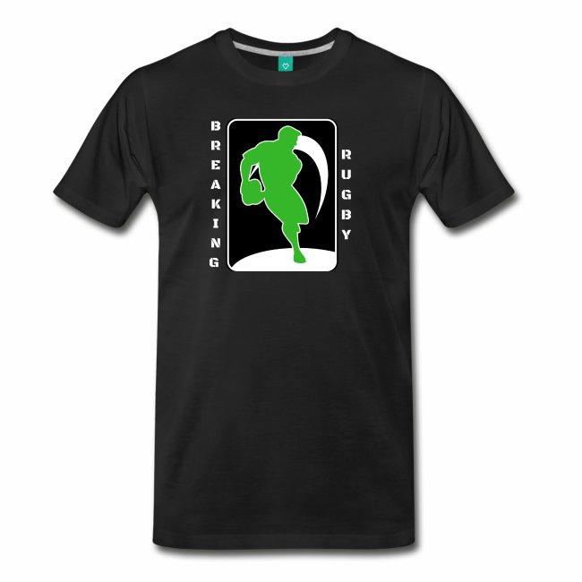 Breaking Rugby tshirt Logo