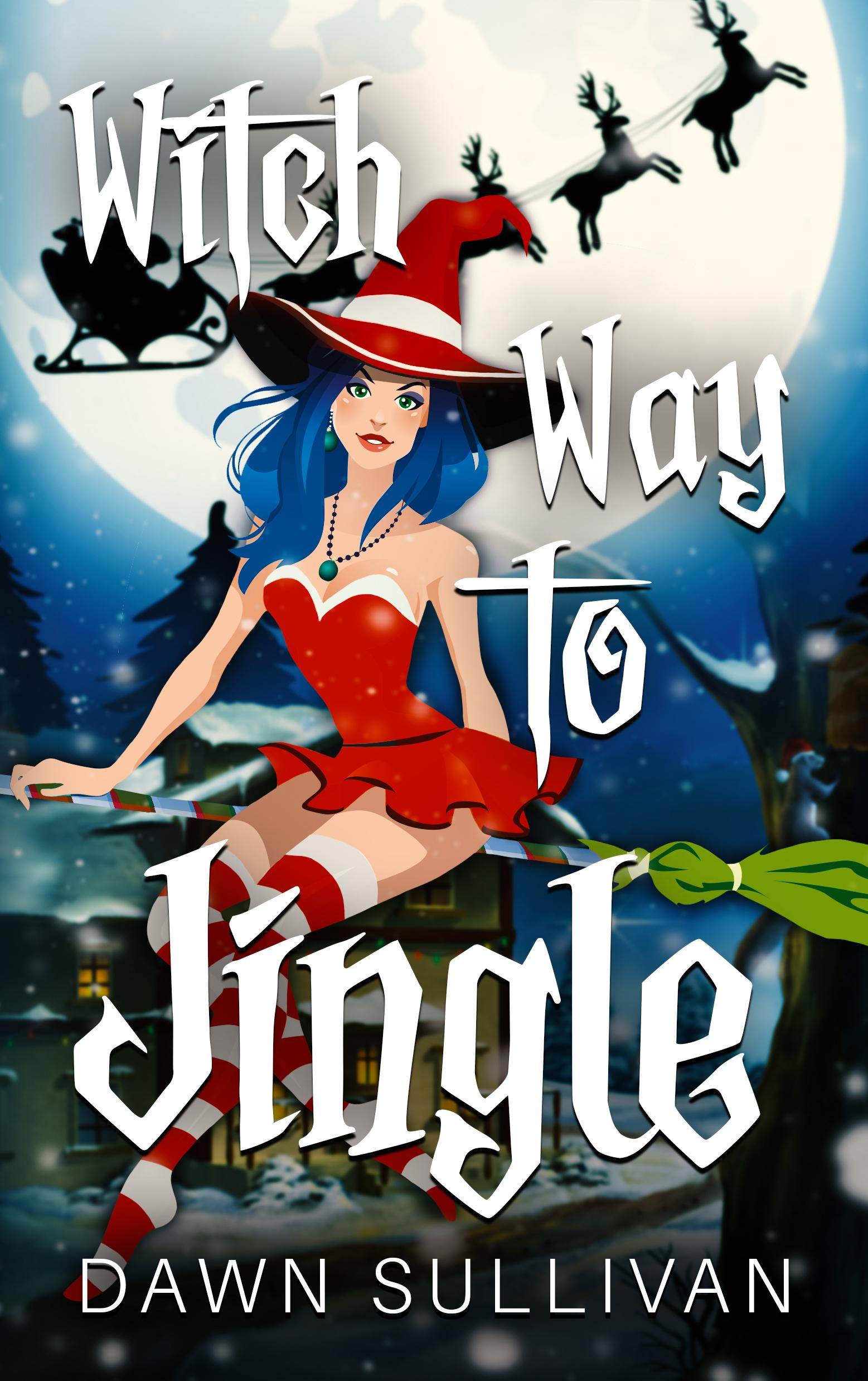 Witch Way To Jingle - E-Cover