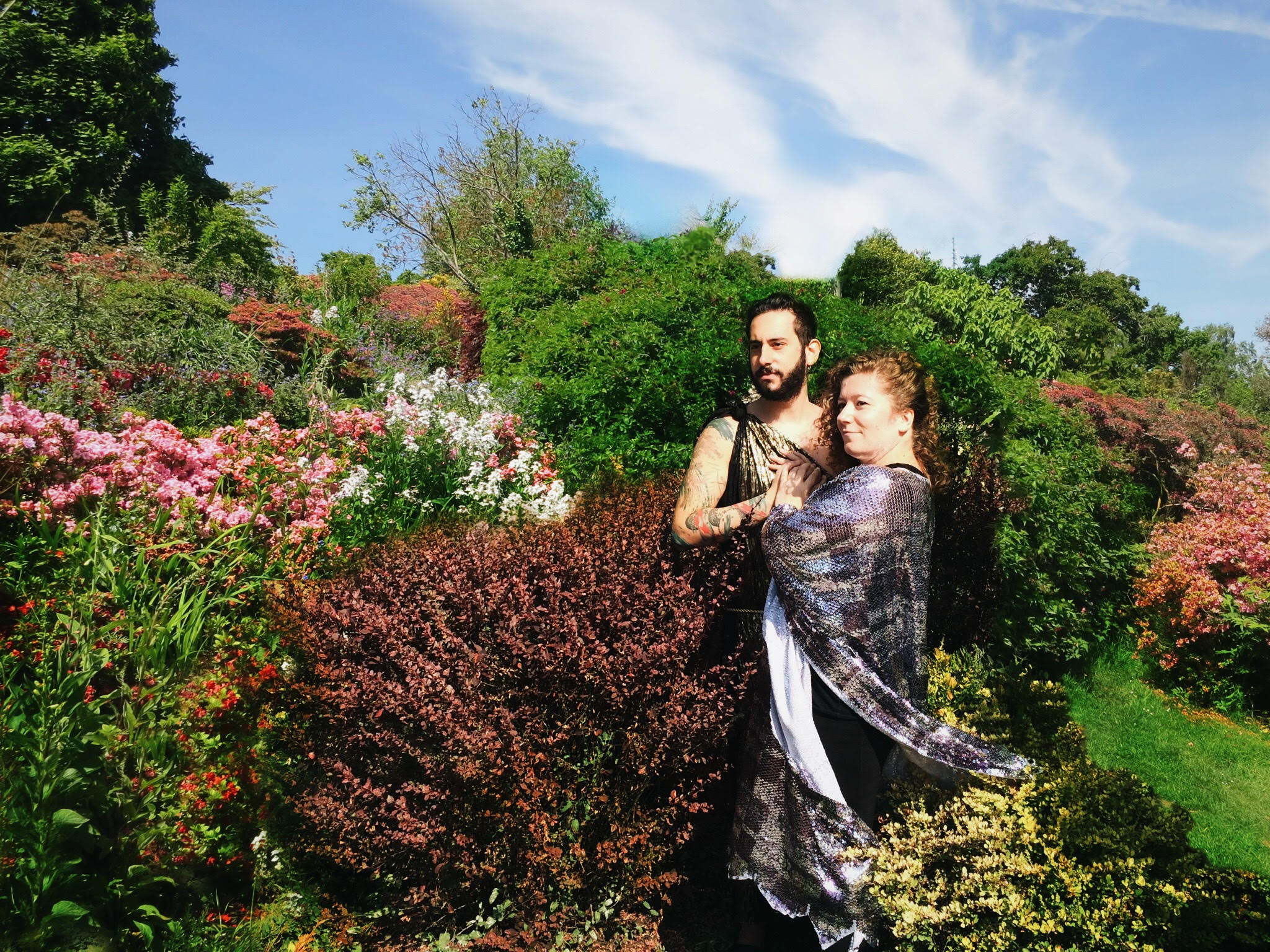 Shakespeare at the Rock- photo courtesy of Tottering Biped Theatre