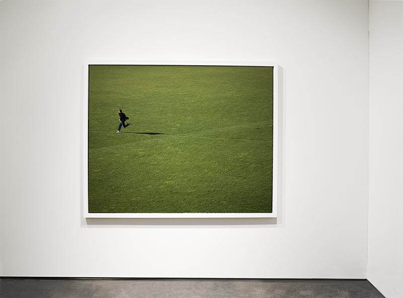 "Robert Arndt, Exiting Picture Left, 2006, Light jet print, 53"" x 71"""