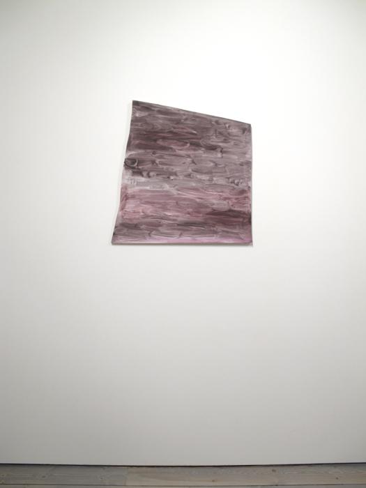 "Monique Mouton, The Weather, 2011, Oil on panel, 27"" X 25"""