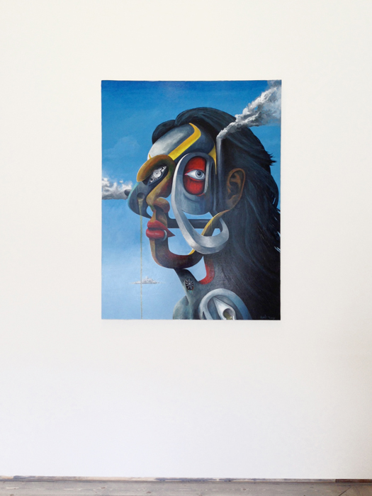 """Shawn Hunt, Untitled, 2013, Acrylic on canvas, 38"""" X 48"""""""