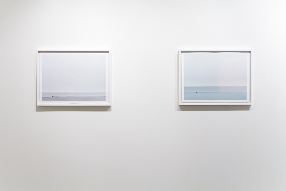 From left to right: Headstrike, 2014, 30 x 22 inches, giclee print, unique. Headstrike, 2014, 30 x 22 inches, giclee print, unique.