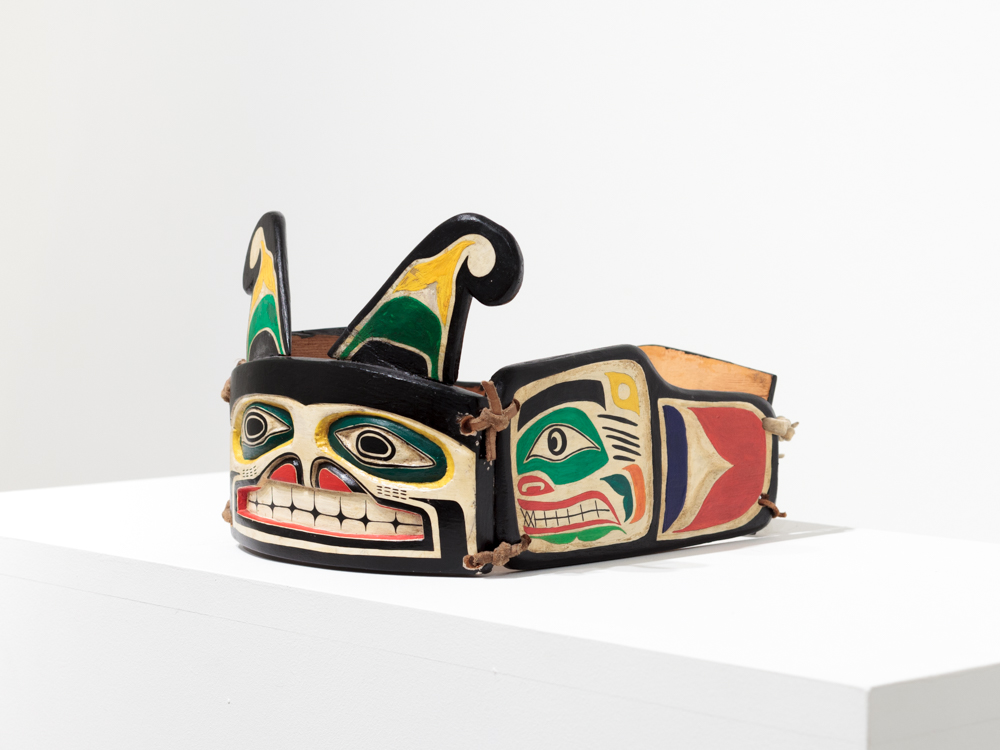Artist Unkown, Frontlet from Alert Bay, c. 1930