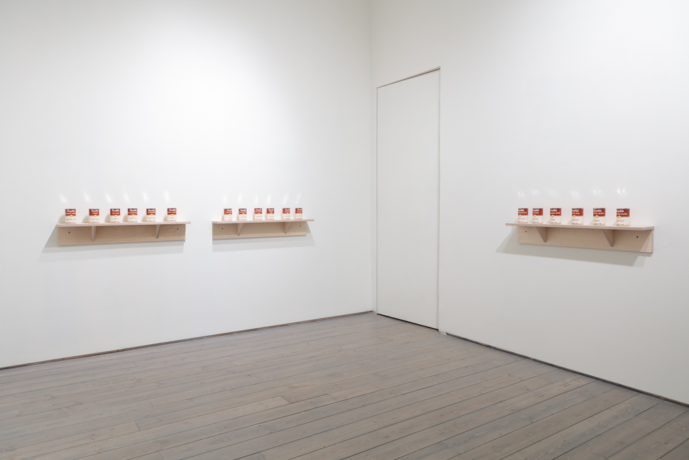 Judy Chartrand Métis Soup Installation view Macaulay & Co. Fine Art, 2016