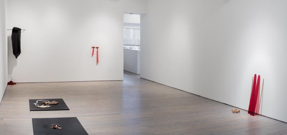 Jeneen Frei Njootli, LUX|MAM, Macaulay & Co. Fine Art, January 2017. Installation view. Photo Credit: Barb Choit.