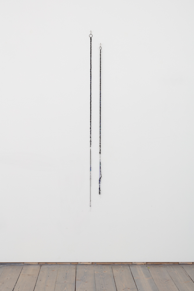 Jeneen Frei Njootli LUX | MAM V, 2017 Loose Beads, Skipping Rope, Steel, Sound Dimensions Variable