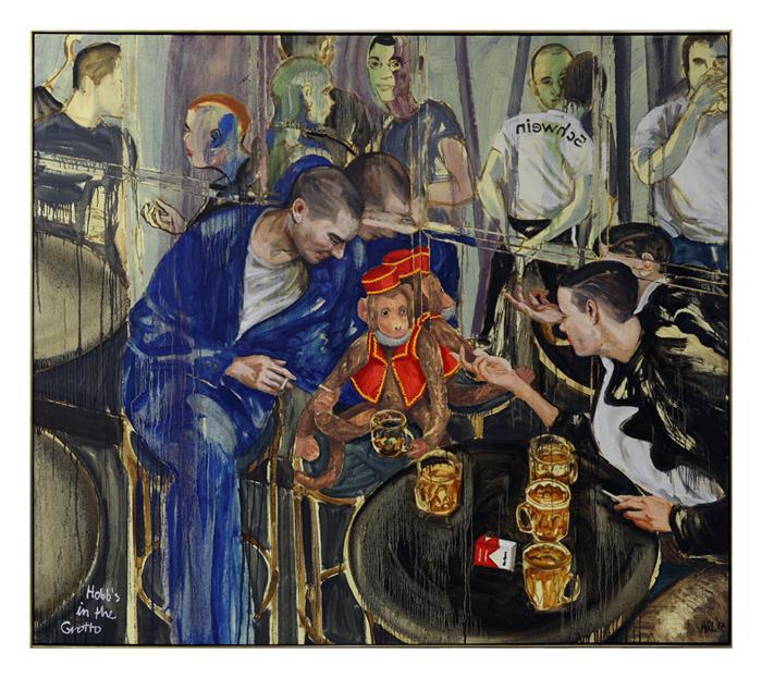 Attila Richard Lukacs Hobbs Exhibition