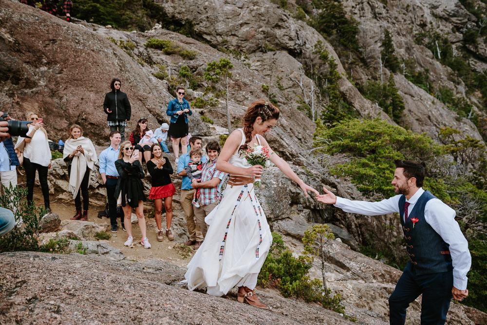 casamiento en la montaña bariloche