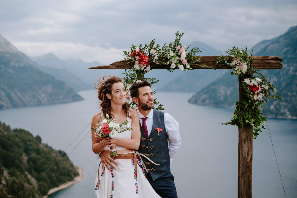 boda de día en mirador bariloche