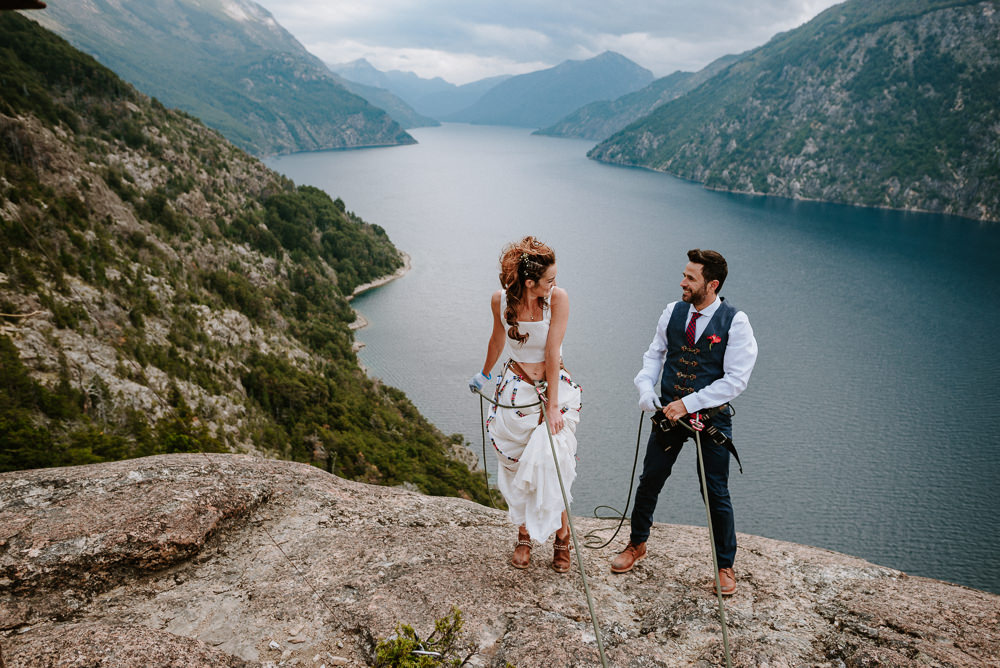 fotos boda escaladores bariloche patagonia argentina