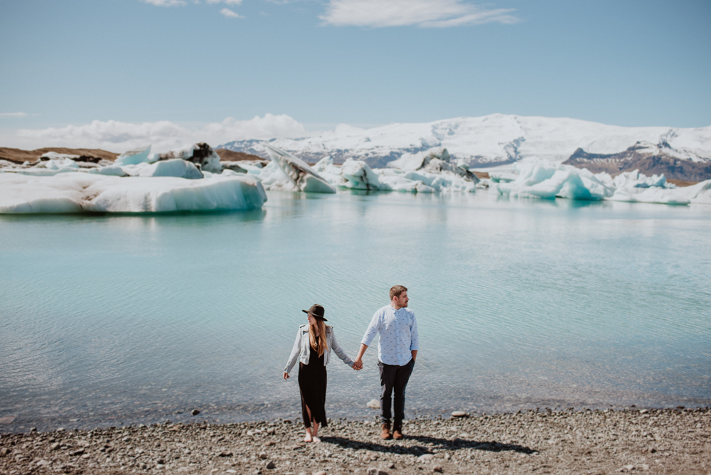 iceland elopement photo session