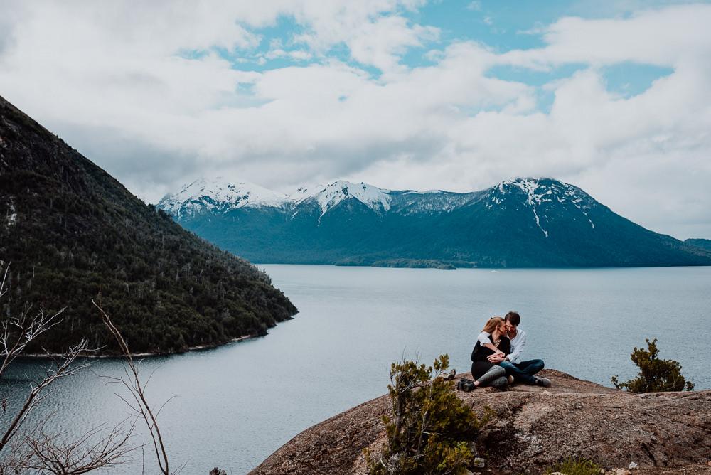 elopement photo session bariloche patagonia