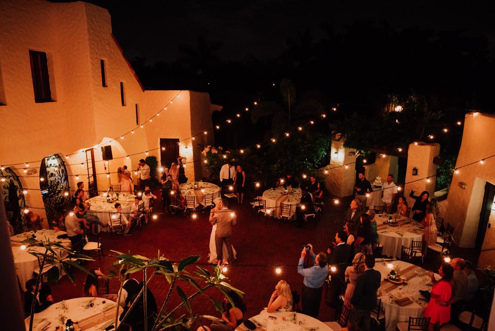 curtiss mansion wedding night