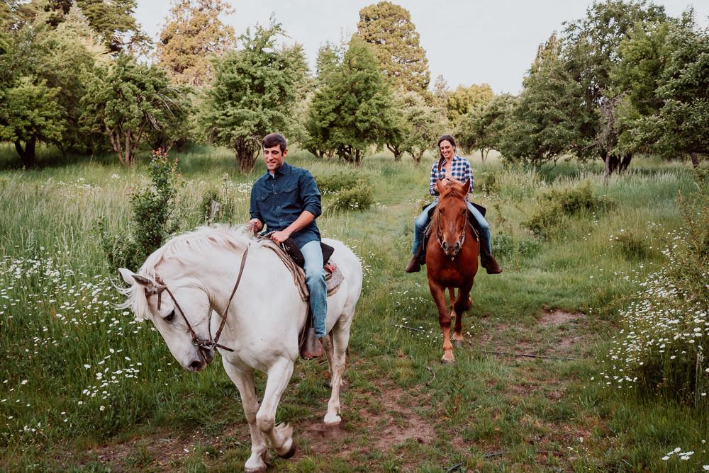 paseo a caballo bariloche