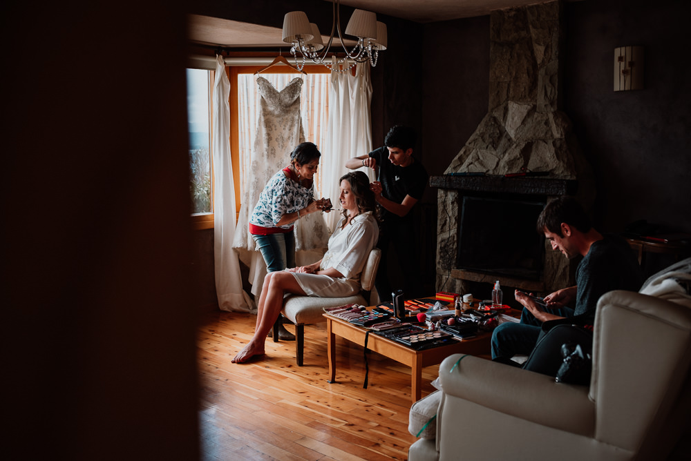 maquilladora casamiento en bariloche