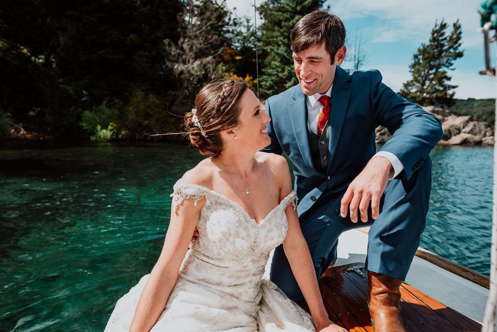 casamento em um veleiro bariloche