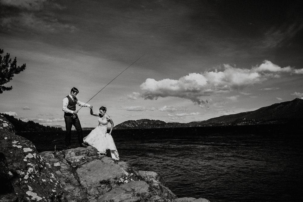 pesca con mosca bariloche patagonia argentina