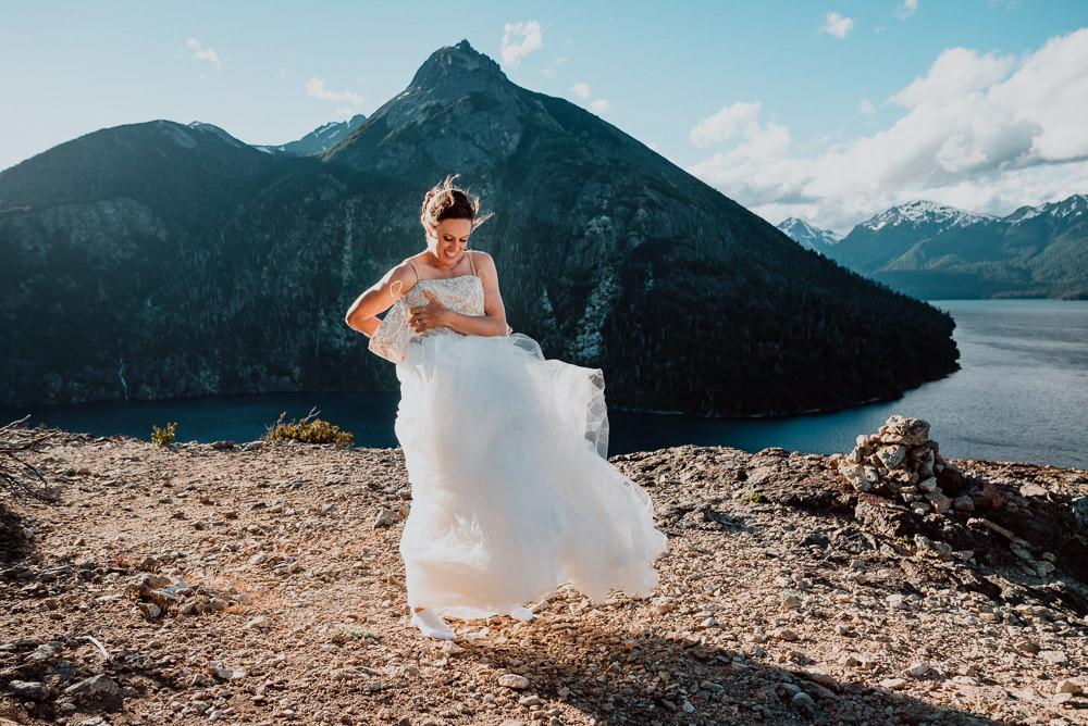 elopement wedding photos bariloche patagonia