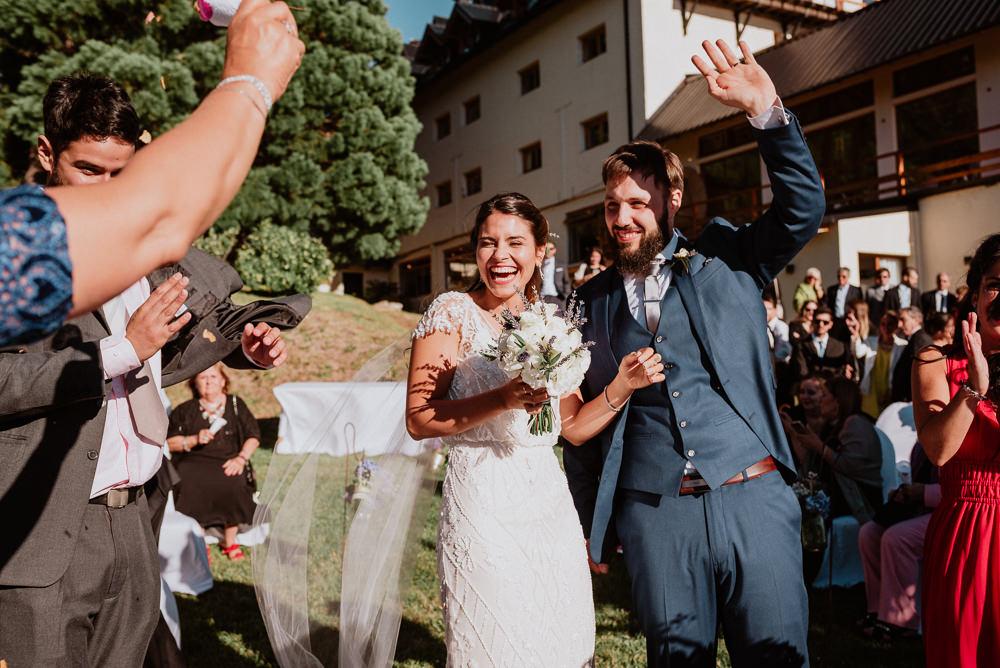 casamiento de día hotel amancay bariloche