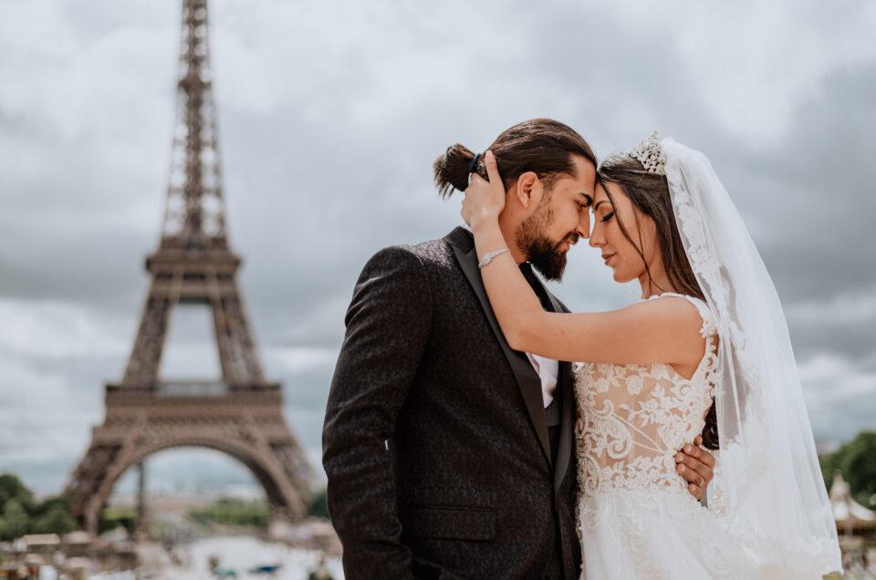 B&T | Paris Elopement Wedding Photo Session