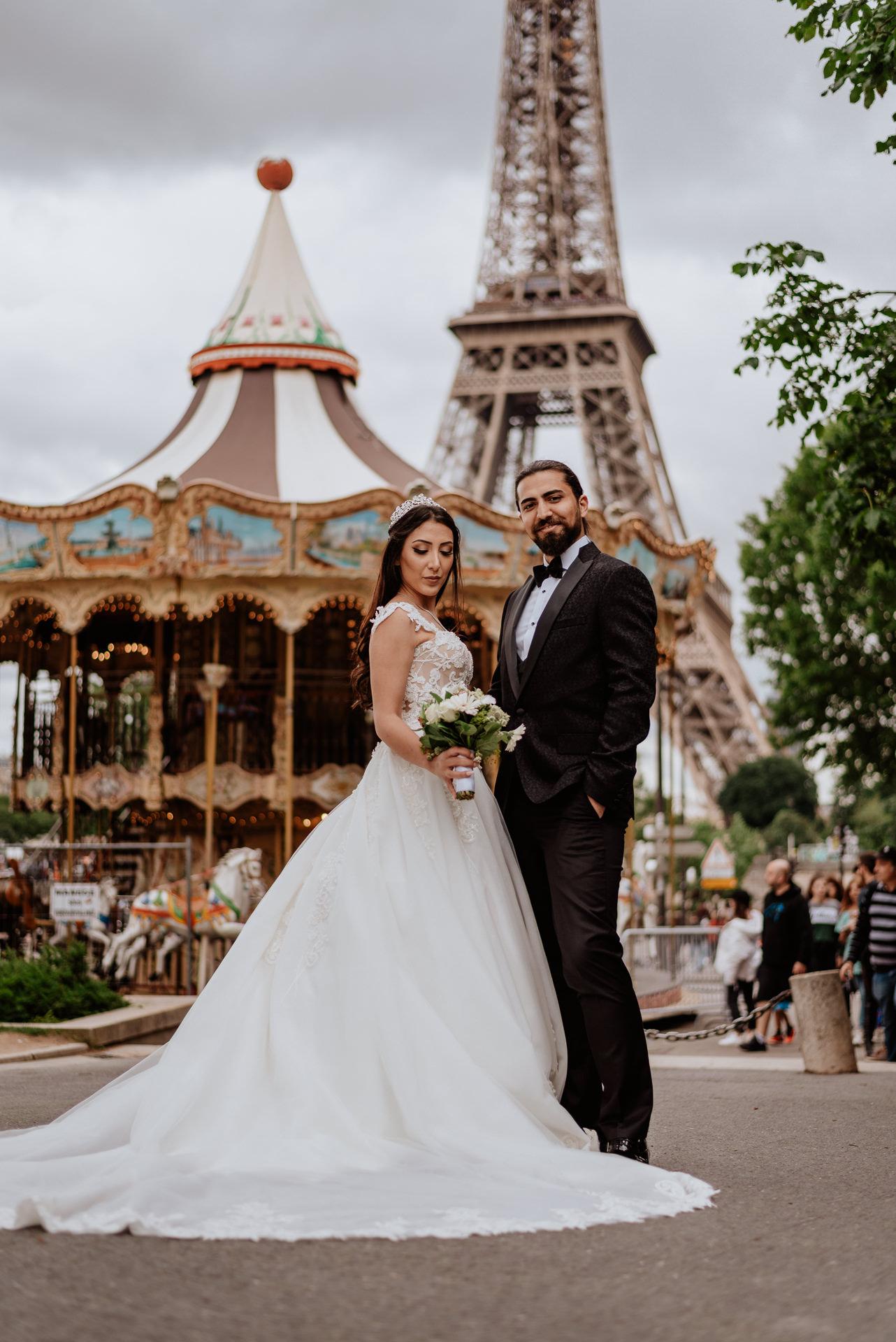wedding photographer in paris france