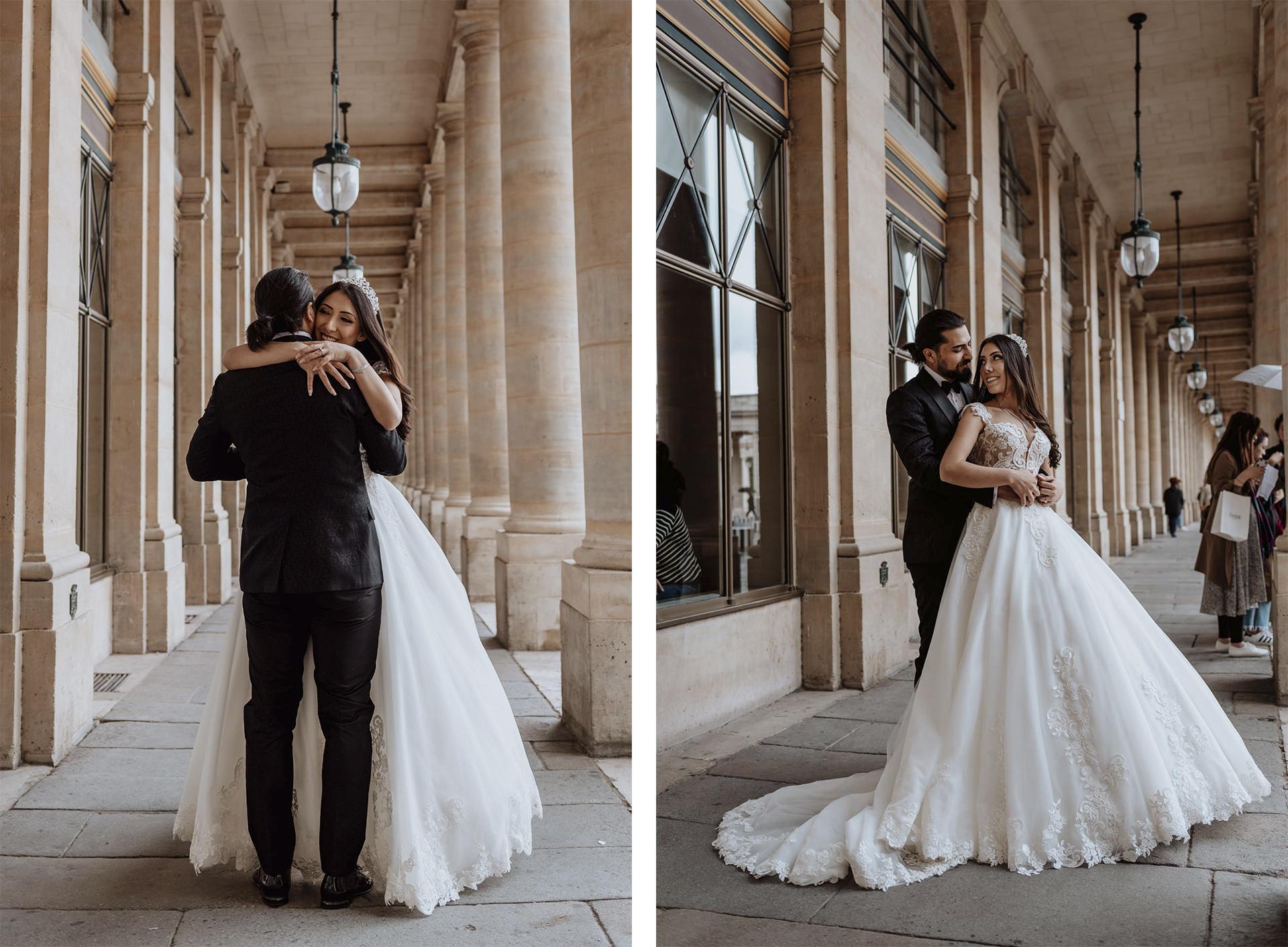 paris wedding proposal photo shoot