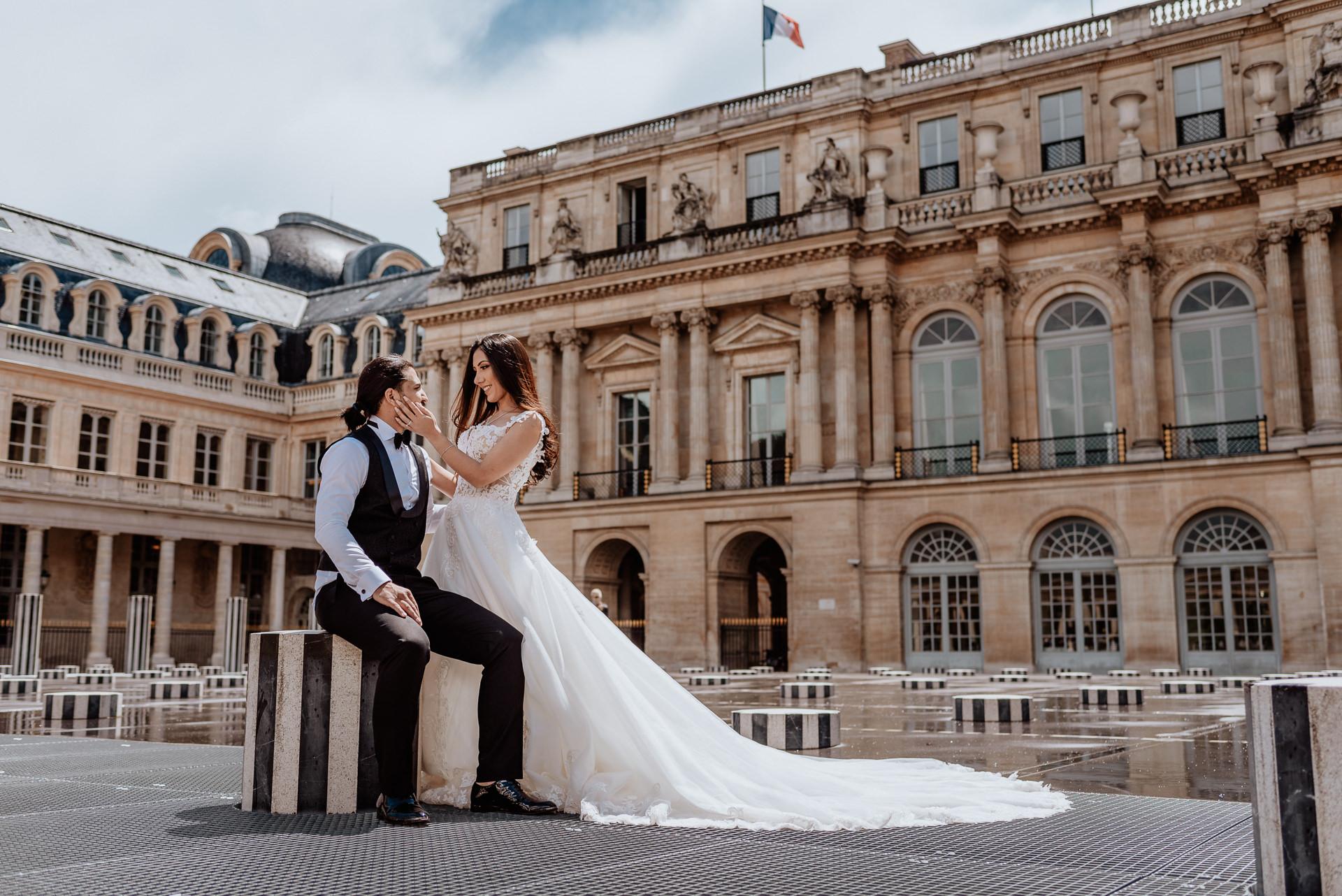 vestido de novia parís