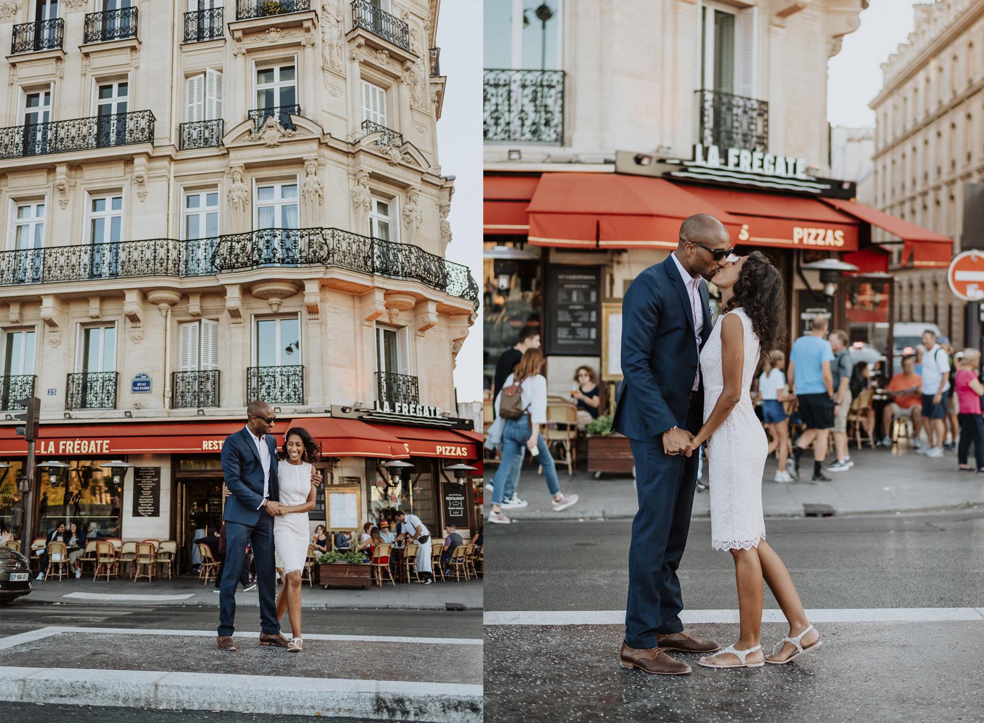paris elopement wedding