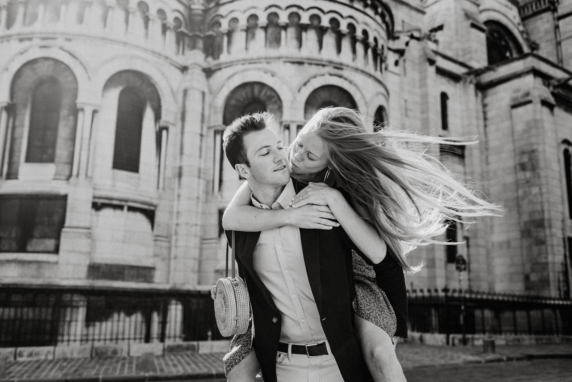 paris engagemente photo session