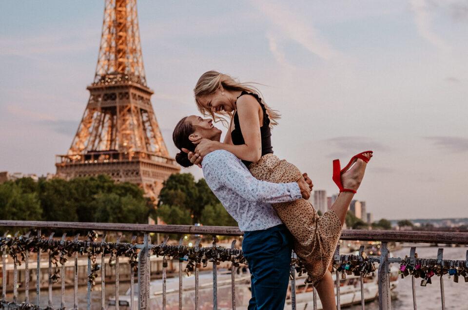 Jordan & Jasmine | Paris Wedding Proposal in the Eiffel Tower