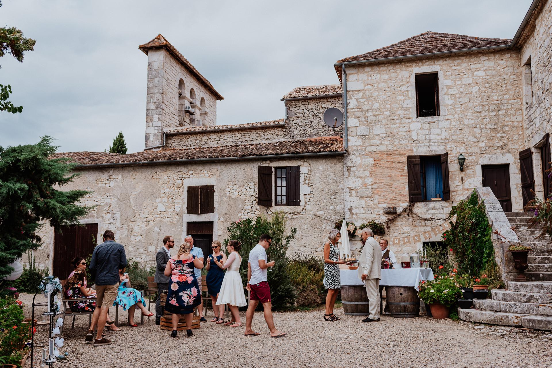 wedding venue in french castle