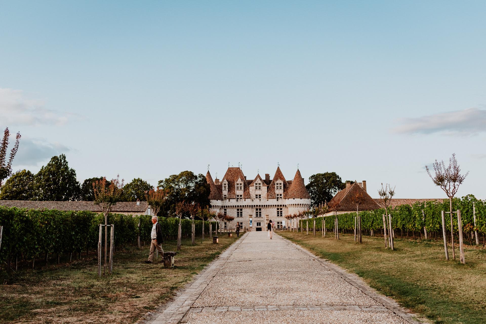 Destination Wedding in France - Castle Vineyard Venue