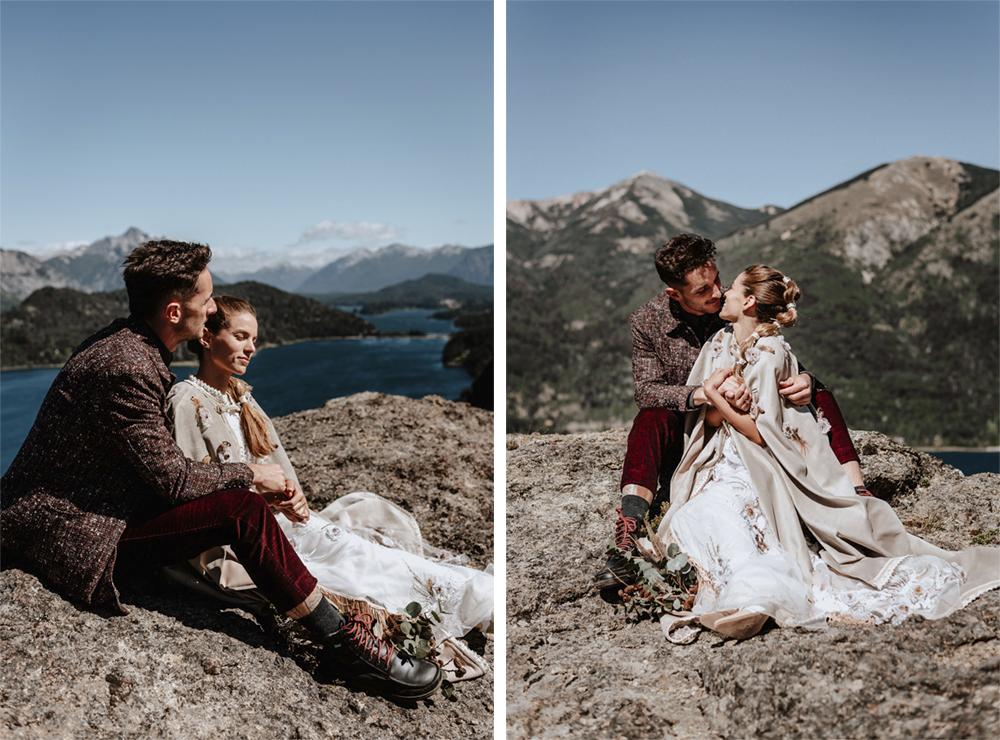 boda en la montaña en bariloche