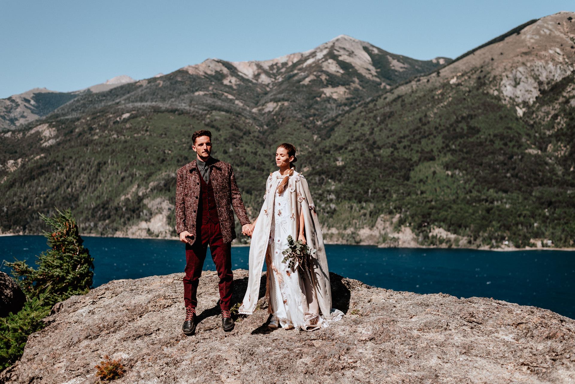 destination wedding in the mountains bariloche
