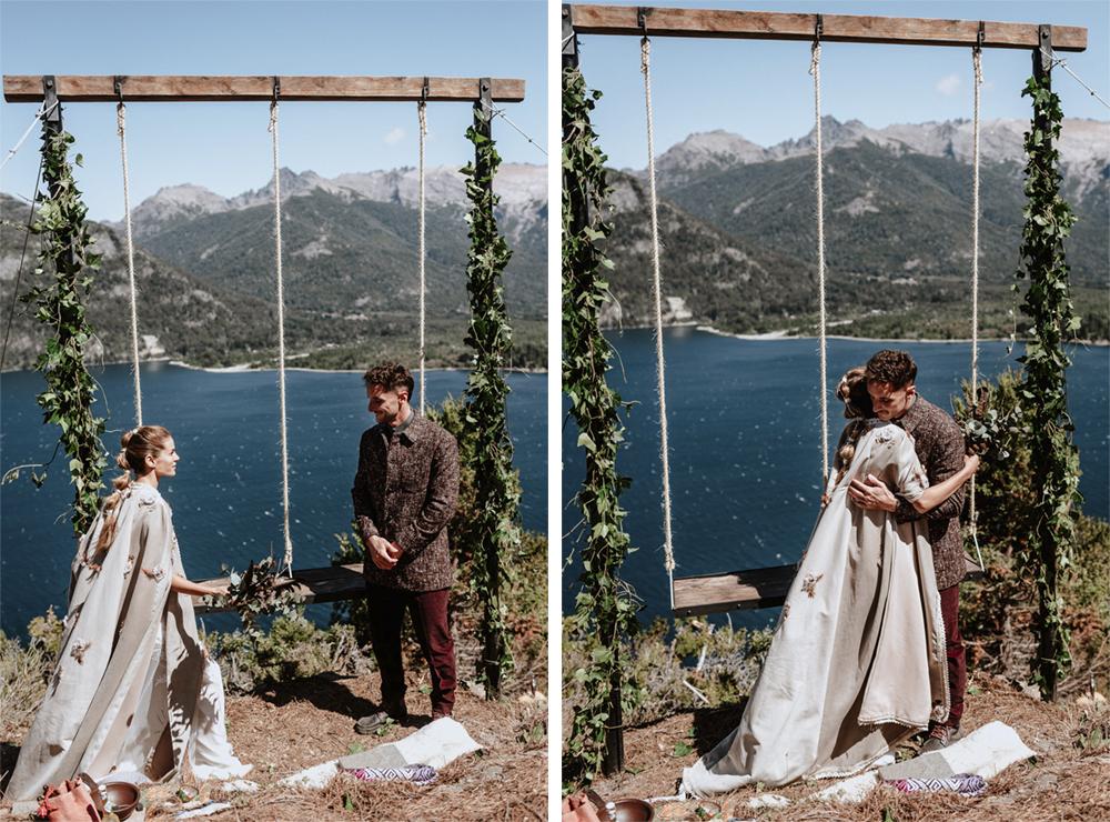 boda en la montaña patagonia
