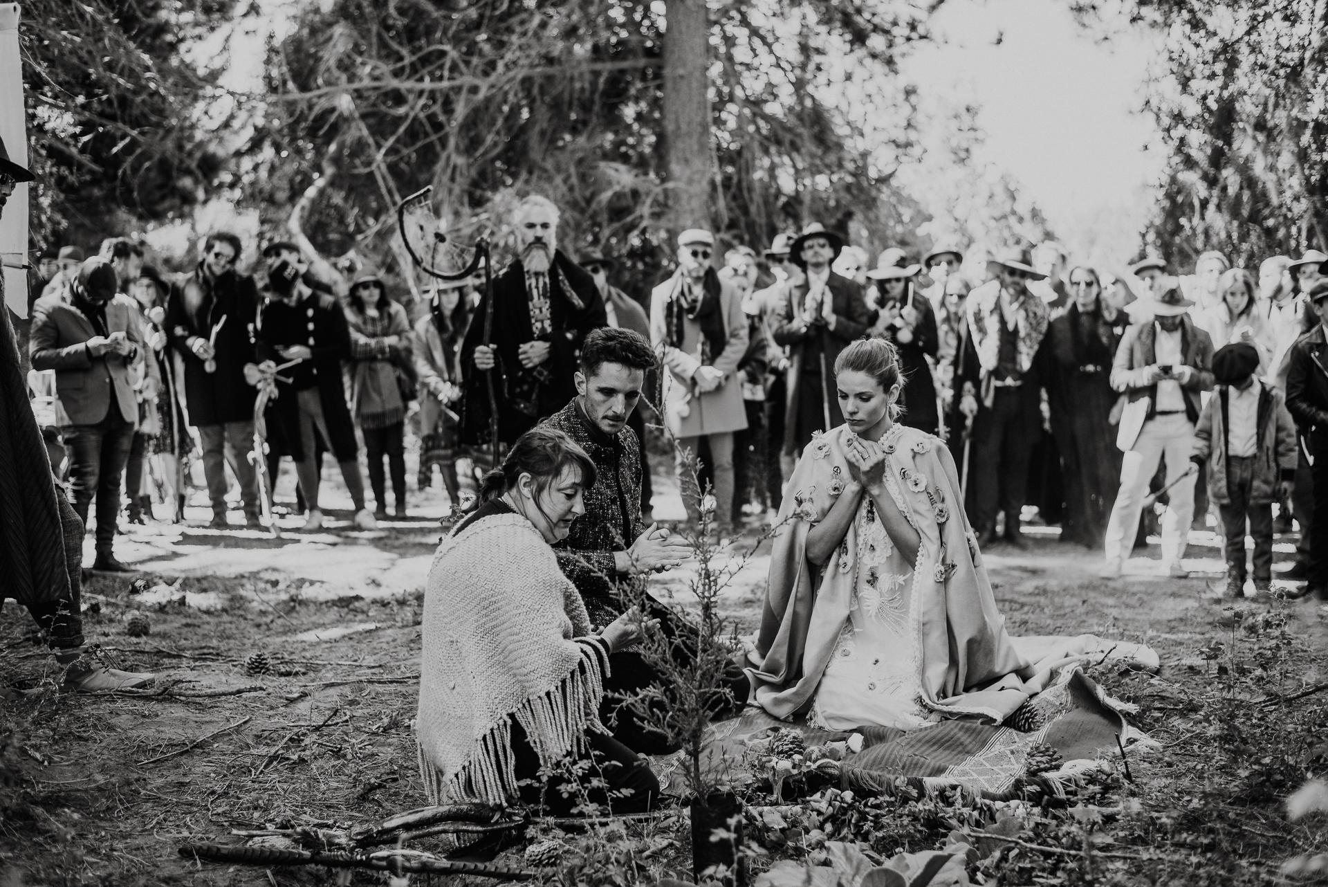 casamiento chamánico patagonia