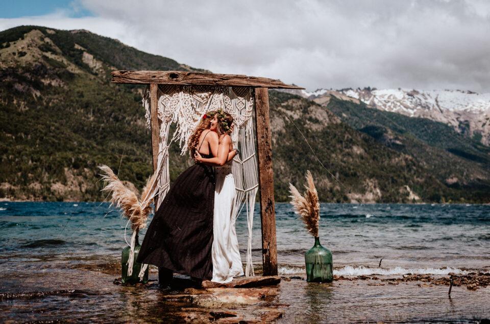 C&L | Same Sex Wedding Elopement in Patagonia