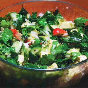 Kona Ulu (BreadFruit) Salad