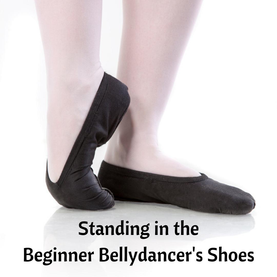 Beginner Bellydancer's Feet