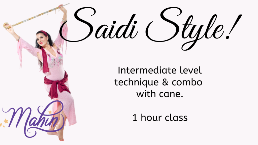 Saidi Style with Cane: Full 1 Hour Class