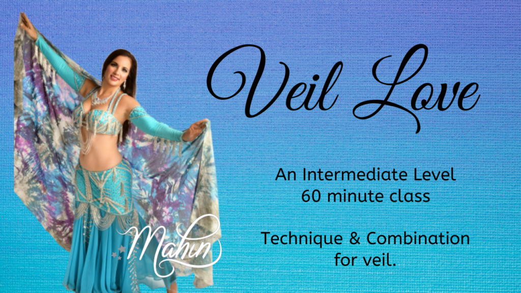 Veil Love: Full-length Intermediate Bellydance Class