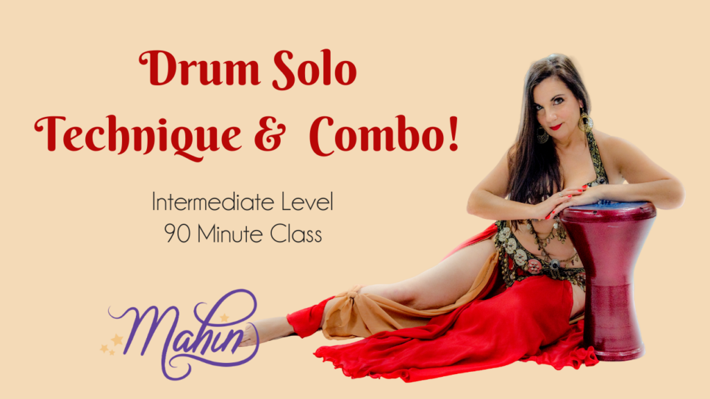 Drum Solo Technique & Combo – Intermediate Level 90 Minute Class