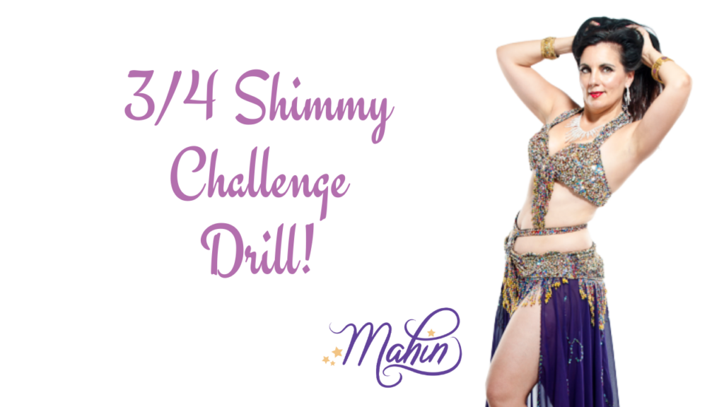 3/4 Shimmy Challenge Drill!